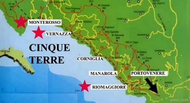 clip image029 - The charming Cinque Terre of Italy.
